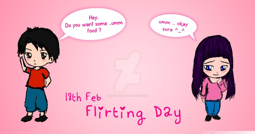 Flirting Day : Wishes, Quotes, SMS, Messages, Status, Greetings, Shayari