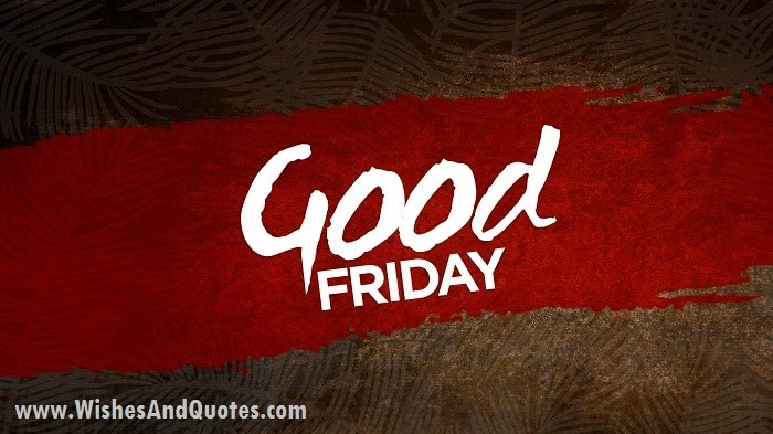 Happy Good Friday SMS 2020