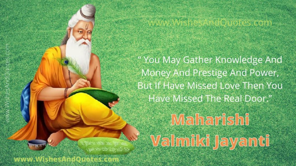 Valmiki Jayanti