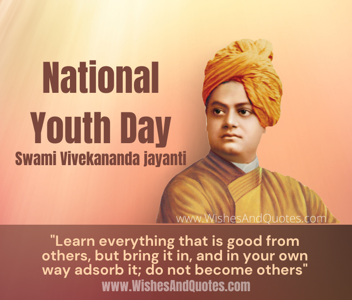 National Youth Day, Swami Vivekananda jayanti
