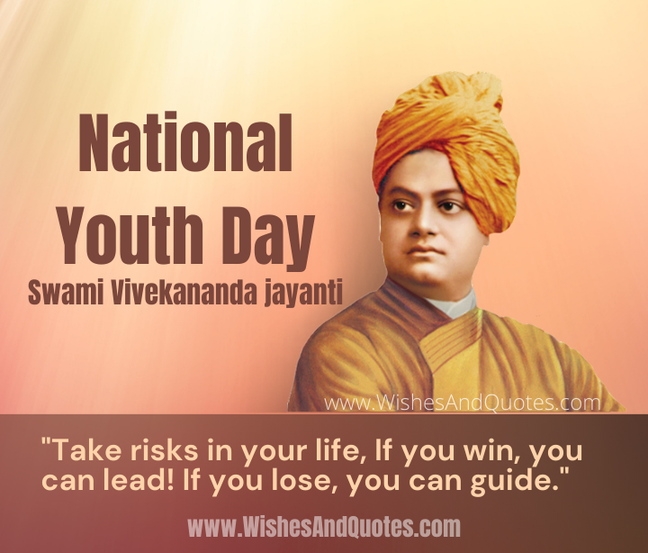 National Youth Day, Swami Vivekananda jayanti