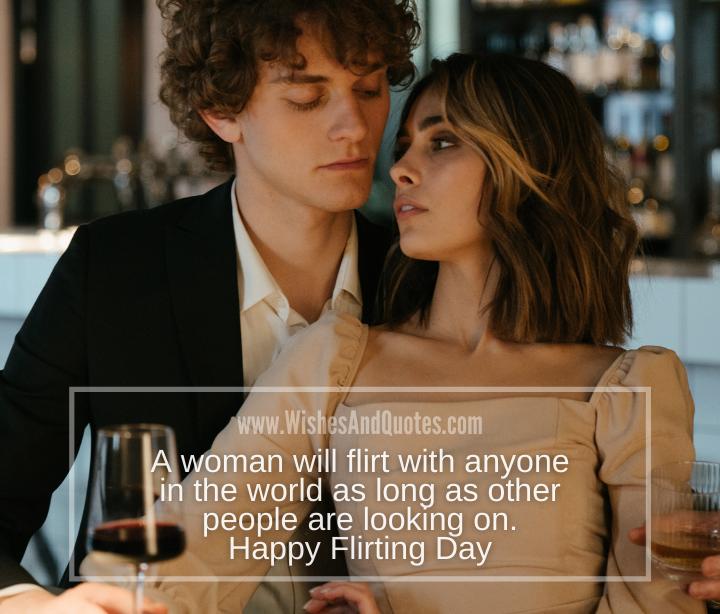 Flirting Day