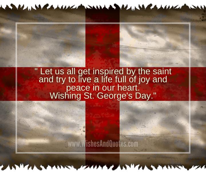 Saint George Feast Day