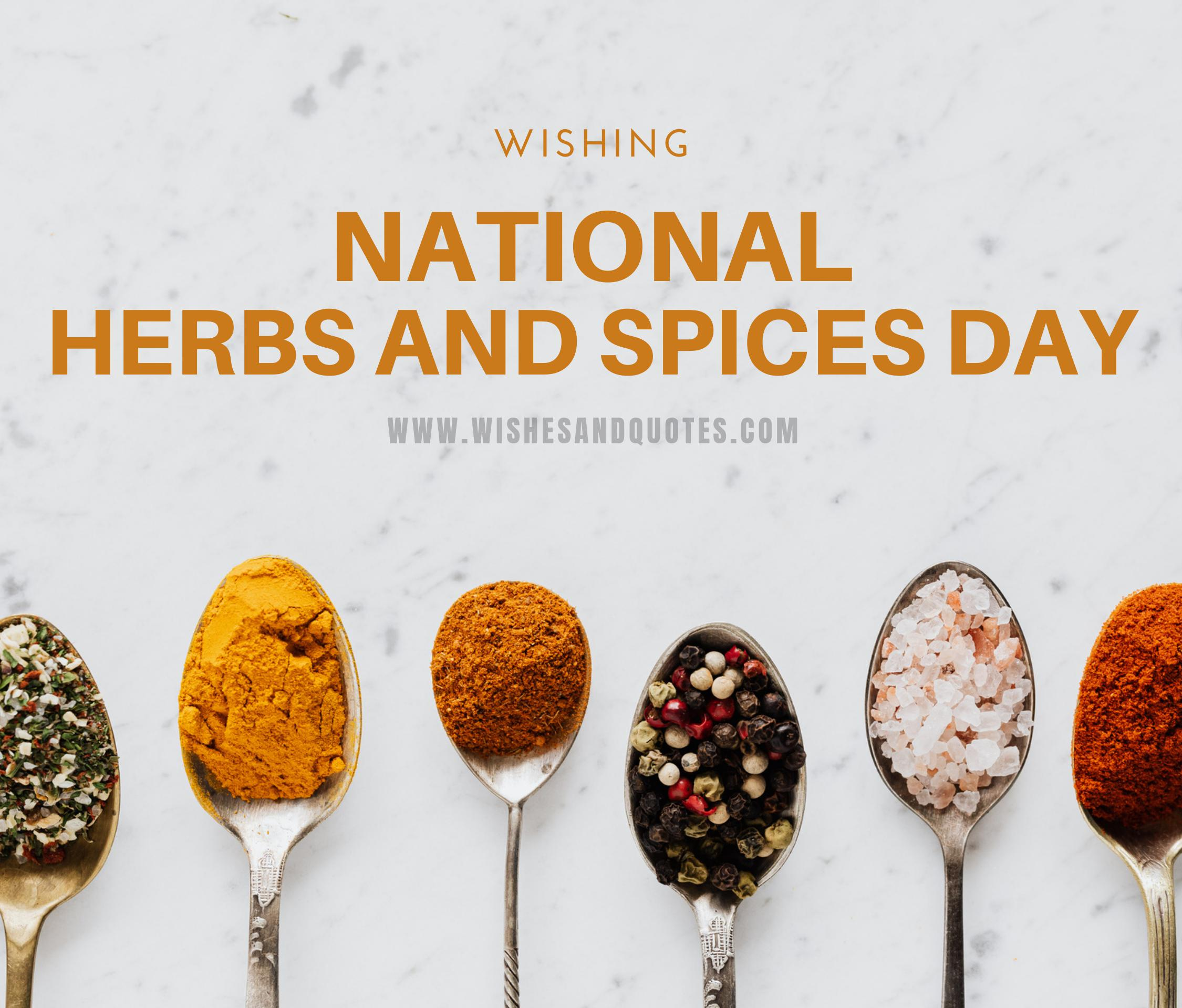 Herbs and Spices Day